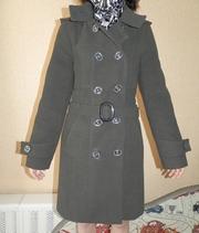Пальто серое Весна-Зима