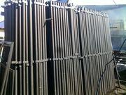Продаем столбы металлические (круглые и профильные)