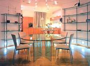 Изготовление мебели из стекла по индивидуальным заказам